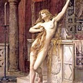 Hypatia  by Charles William Mitchell