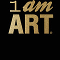 I Am Art- Gold by Linda Woods