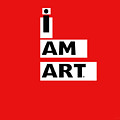 I Am Art Stripes- Design By Linda Woods by Linda Woods