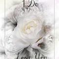 I Do Love You Framed by Teresa Wilson