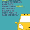 I Dont Believe In Taking Right Decision Quotes Poster by Lab No 4