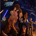 I Grew Up With Starwars by Nelson Dedos  Garcia