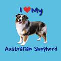 I Heart My Australian Shepherd by Becky Herrera