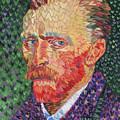 I Heart Van Gogh Portrait Of Vincent by Randal Huiskens