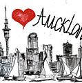 I Love Auckland  by Sladjana Lazarevic