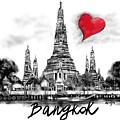 I Love Bangkok by Sladjana Lazarevic