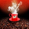 I Love Coffee by Stefano Senise