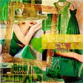 I Love Green by Nidigicrea Collages