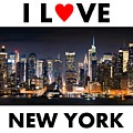 I Love New York by Ceppi Habibi Sholeh