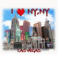 I Love Ny Ny by Gravityx9  Designs