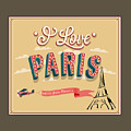 I Love Paris by Frederick Holiday