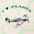 I Love Planes - Hurricane by Paul Gulliver