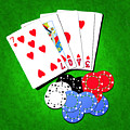 I Love Poker by Francesa Miller