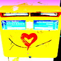 I Love You ... French Mailbox Style  by Funkpix Photo Hunter