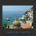 I Share My Talents by Donna Corless
