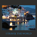 I Travel The World Amalfi by Donna Corless