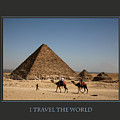 I Travel The World Cairo by Donna Corless