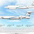 Iaf Nachshon Squadron by Amos Dor