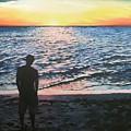 Ian's Sunset by Anne Gardner