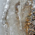 Ice And The Beach Two  by Lyle Crump