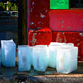 Ice Blocks By Michael Fitzpatrick by Mexicolors Art Photography
