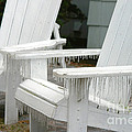 Ice-coated Chairs by Ted Kinsman
