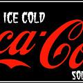 Ice Cold Coke 8 Coca Cola Art by Reid Callaway