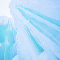 Ice Covered Mountains Good For Ice Climbing by Alex Grichenko