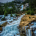 Ice Fall by Dave Rennie
