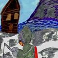 Ice Fishing by Elinor Helen Rakowski
