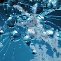Ice Flower Abstract by Mari Biro