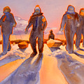 Ice Men Come Home by Kathy Braud
