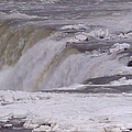 Ice Over The Falls by Sheila Lee