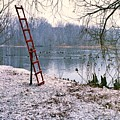 Ice Rescue Ladder  by Carmine Taverna
