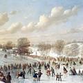 Ice Skating, 1865 by Granger