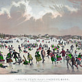 Ice Skating, C1859 by Granger