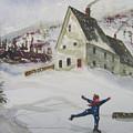 Ice Skating by Robert Harrington