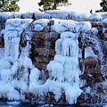 Ice Water Fall by Linda Cupps