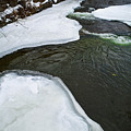 Ice Whirlpool by Miranda Strapason