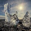 Iceberg Fingers Catching The Sun by Rikk Flohr
