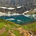Iceberg Lake Glacier by Adam Jewell