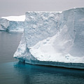 Icebergs In The Weddell Sea Antarctica by Brian Lockett