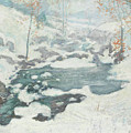 Icebound by John Henry Twachtman