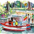 Icecream Boat In York by Miki De Goodaboom