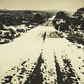 Iced Over Road by Jorgo Photography - Wall Art Gallery