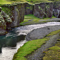 Iceland Canyon Walk by Dave Dilli