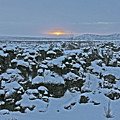 Iceland Lava Field Sunrise Mountains Clouds Iceland 2 2112018 1024jpg by David Frederick