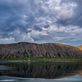 Iceland Mountain Reflections  by Michael Ver Sprill