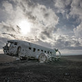 Iceland Plane Wreck by Michael Ver Sprill