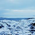 Iceland Rocks Lake Clouds Iceland 2 2112018 0935 by David Frederick